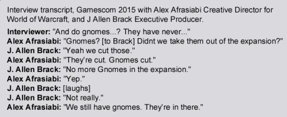 Transcript-gnomes