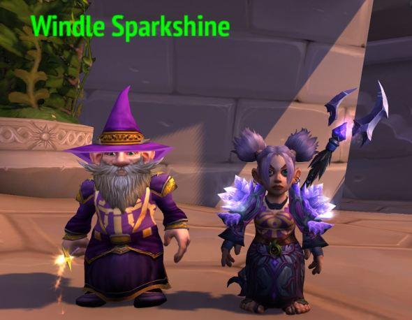 Windle and I